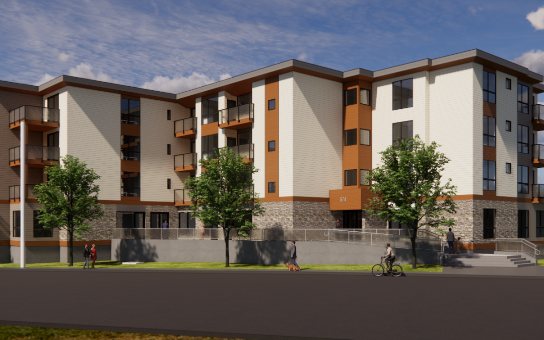 New Commercial and Residential Building in Courtenay, BC